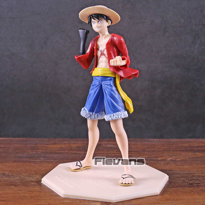 Toys & Hobbies One Piece Abiliators Monkey D Luffy Jump 50th Anniversary Figure Collectible Pvc Figruine Model Toy With Traditional Methods