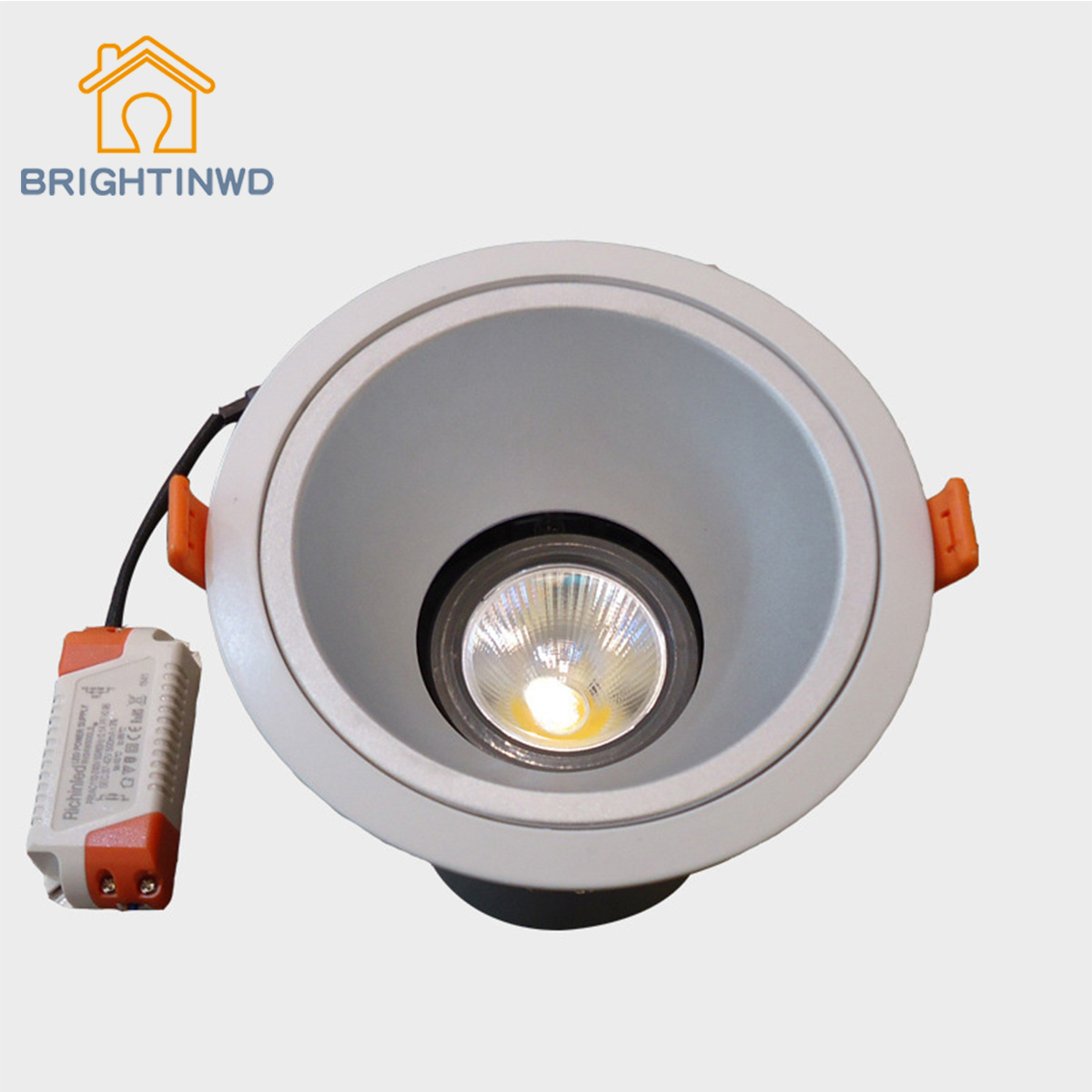 BRIGHTINWD New LED Ceiling Spotlights Special 15W Durable Energy-Efficient Commercial Hotel Restaurant COB Lighting energy efficient architecture