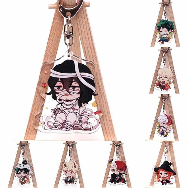 Anime Cartoon boku no hero Academia mój hero Academia Shota Aizawa akrylowy brelok brelok zabawka Halloween Cosplay brelok na prezent