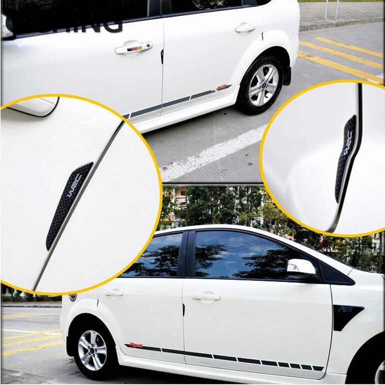 La puerta del coche Protector de puerta lado protección de borde guardias pegatinas para golf 7 gti asiento ibiza fr mazda cx-5 2017, 2018 honda accord