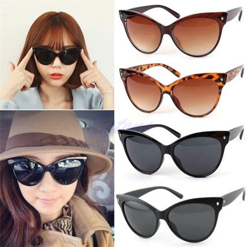 Корея леди девушка Для женщин классический Cat Eye модные очки оттенков рамка солнцезащитные очки Óculos де Sol Ga 4 Colors-448E