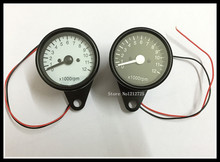 New pattern Motorcycle refit instrument Mechanical tachometer LED GN CG compatible 1000rpm