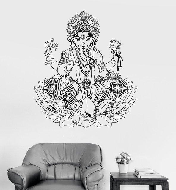 Vinyl Sticker of Ganesha