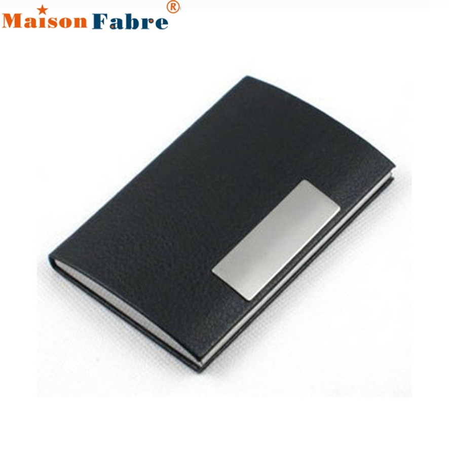 SuperDeals - New Fashion Waterproof Business ID Credit Card Holder ...