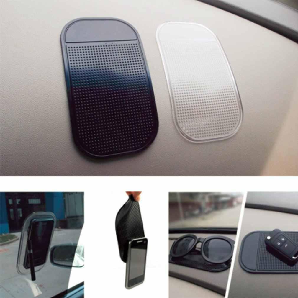 1PC Mobil Dashboard Lengket Pad Silica Gel Hisap Kuat Pemegang Pad Anti Slip Tikar untuk Ponsel Mobil Aksesoris