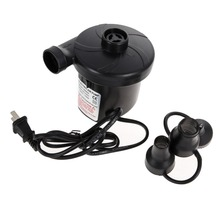 High Quality AC 240V Electric Air Pump Inflate Deflate for Air Bed Boats Dolls inflatable Bag Mattress With 3 Nozzles US plug