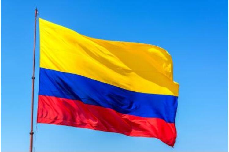 Бесплатная доставка, xvggdg колумбийский флаг 3 фута x 5 футов, висящий флаг Колумбии, стандартный флаг полиэстера, баннер