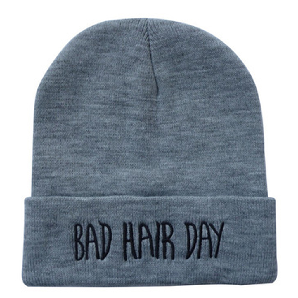Solid English Letters Men Women Warm Knitting Wool Hip Hop Cap Beanie Autumn Winter Hat 2017 special offer limited polyester adult beanie korean warm fold hip hop head cap casual knitting hat wool winter heap hats