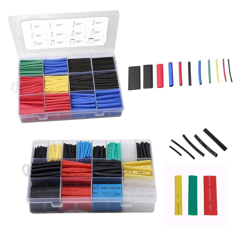 Heat shrink tubing Electrical insulation tubes x560 Cable sleeve shrinkable wrap
