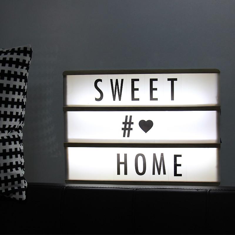 Night, Board, Letter, Led, Decoration, Lighting