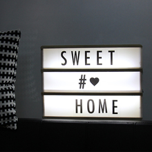 Led Letter Lamp A4 DIY Wood Light Box Wood Lightbox Led Letter Message Board Night Lamp Table Decoration Lighting Marquee Sign a4 light box menu board acrylic maggic mirror led lightbox wall restaurant menu frame