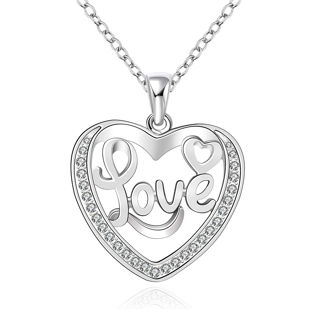 78fe36601b1b ٩( ‿ )۶N785 925 joyería de plata hueco de la manera del corazón del ...