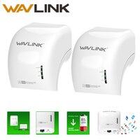 Wavlink 1200 Mbps Powerline Gigabit Ethernet Adaptörü Dual Band Genişletici Erişim Noktası Gigabit Portu Hız Çifti Beamforming kiti ABD
