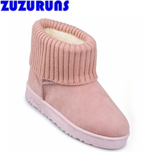 ultra light flat winter snow boots women ladies plush linng ankle boots girls fashion brand shoes botas mujer winter shoes 146m(China (Mainland))
