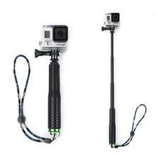 Aluminum alloy selfie stick for sports camera Waterproof telescopic rod self-timer bracket