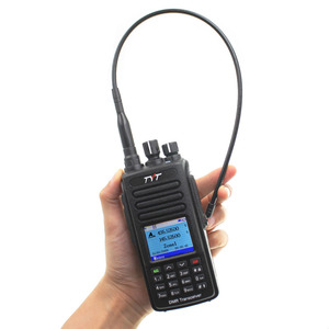 Image 3 - Tyt MD UV390 dmrラジオステーション 5 ワット 136 174 & 400 480 470mhzのトランシーバーMD 390 IP67 防水デュアルタイムdlotデジタルラジオ