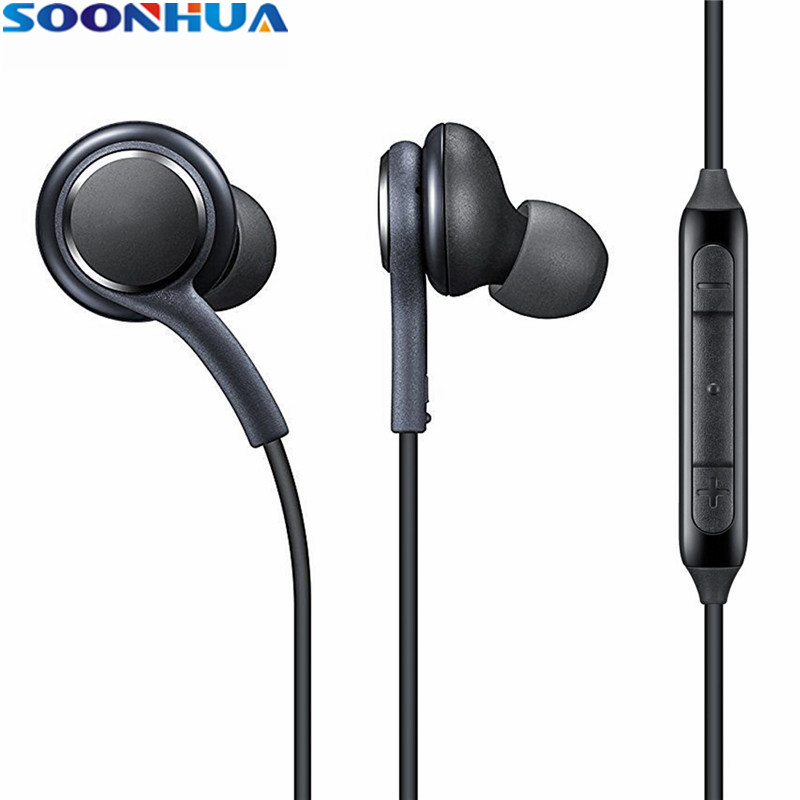 SOONHUA In-ear Sports Earphones With Mic Super Bass Earphone Clear Ear Buds Headset For iPhone 6 6s Xiaomi Samsung Smartphone original xiaomi hybrid earphone units with mic remote in ear hifi earphones with mic circle iron mixed for xiaomi redmi mobile