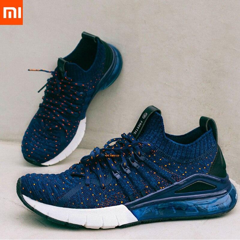 2019 nouveau Xiaomi mijia FREETIE chaussures de course hommes chaussures de Sport en plein Air marche Jogging coussin d'air baskets confortables pour homme