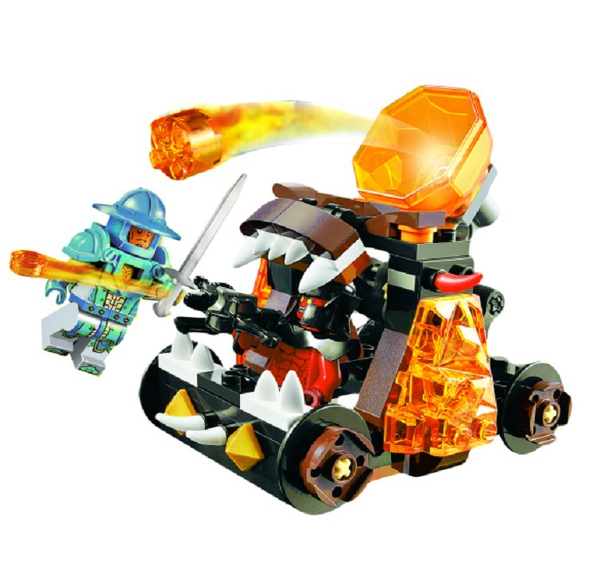 Compatible Legoings giftse 70311 10474 Nexus Knights Chaos Catapult Jestro S Building Blocks Bricks Toys