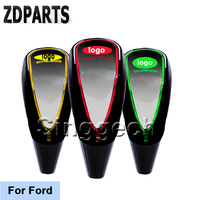 ZDPARTS Car Styling Gear Shift Knob Touch Sensor Colourful LED Light 5/6 Speed For Ford Focus 2 3 1 Fiesta Mondeo Kuba Ecosport