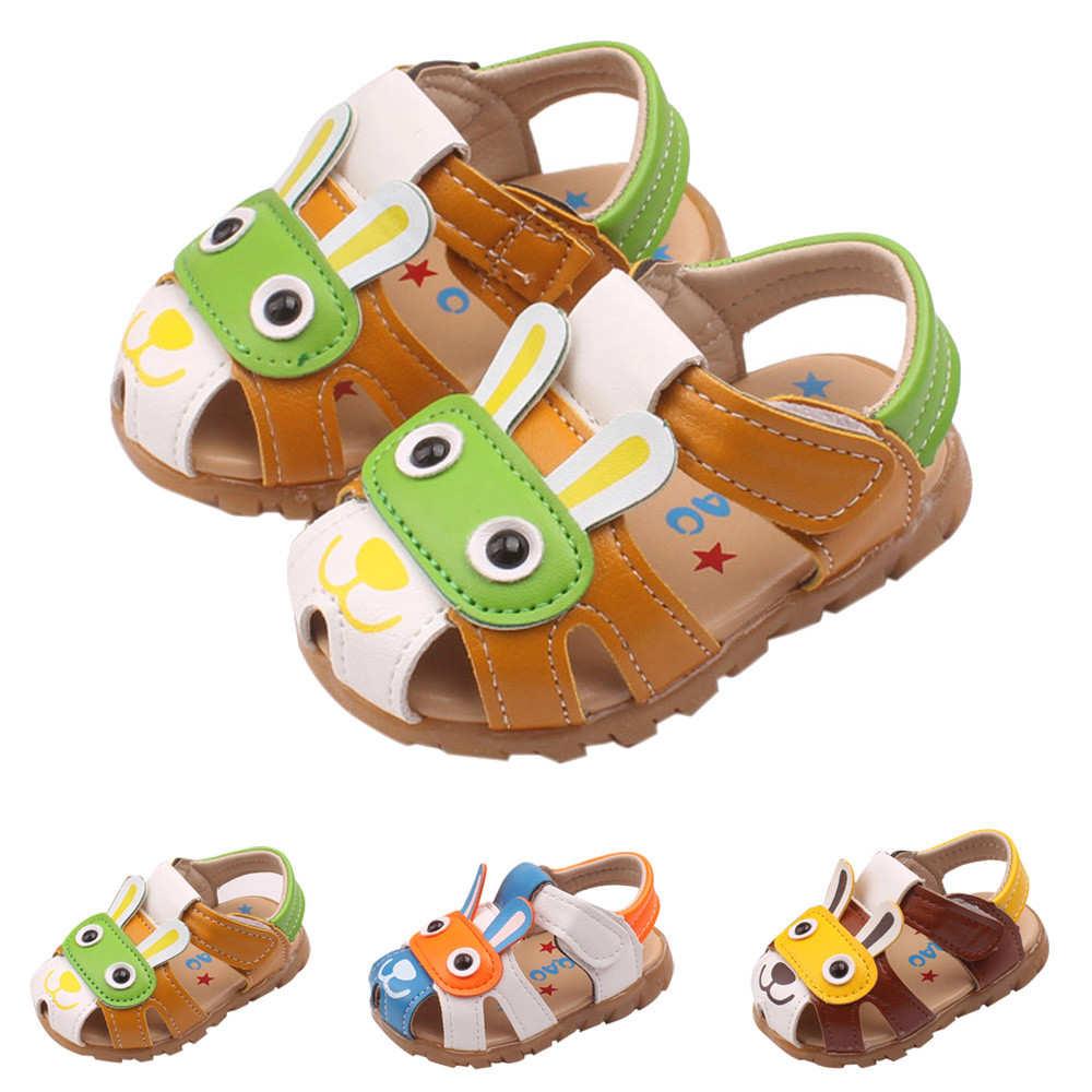 2018 новый милый ребенок мода обувь Дети для маленьких мальчиков для девочек Летняя обувь с мигающими Сапоги с подсветкой Обувь с рисунком из ...