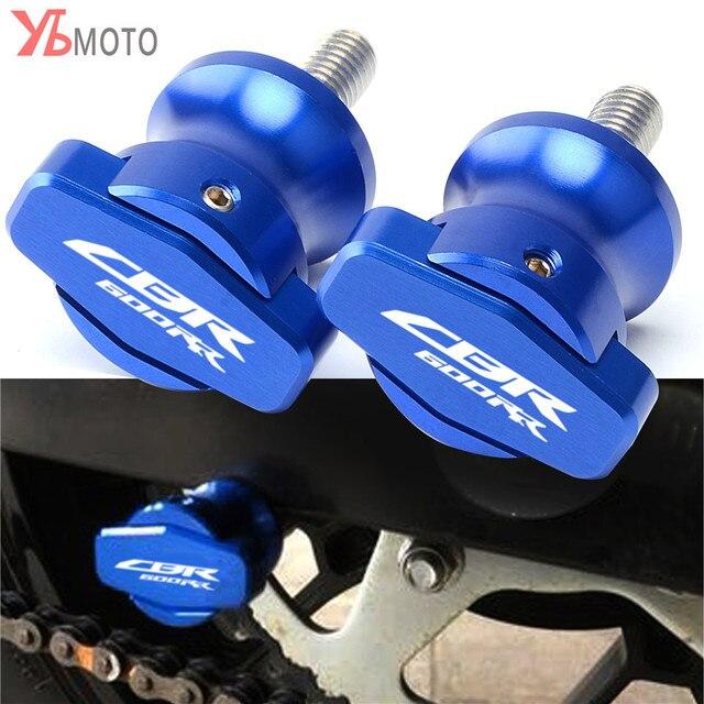 Para Honda Cbr600rr Cbr 600 Rr 2003 2011 2004 2005 2006 2007 2008 2009 2010 De 8mm Basculante Deslizadores Carretes Soporte Deslizante