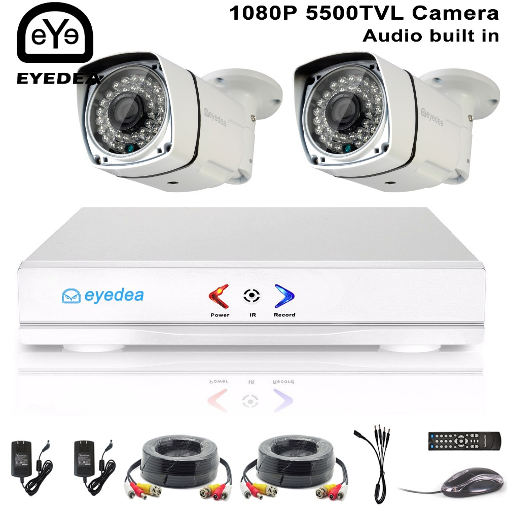 4 channel security system DVR4+2y