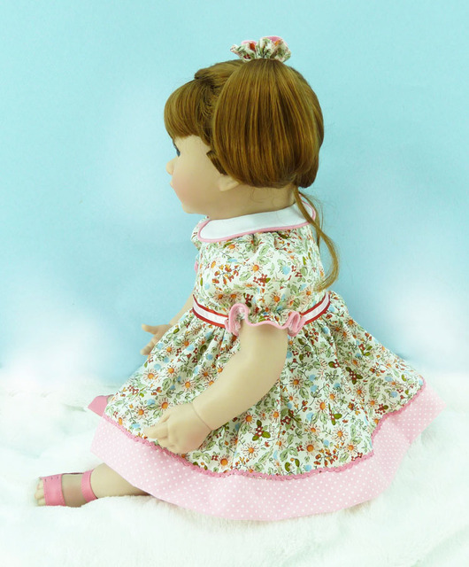 About 50cm Silicone Vinyl Reborn Baby Doll