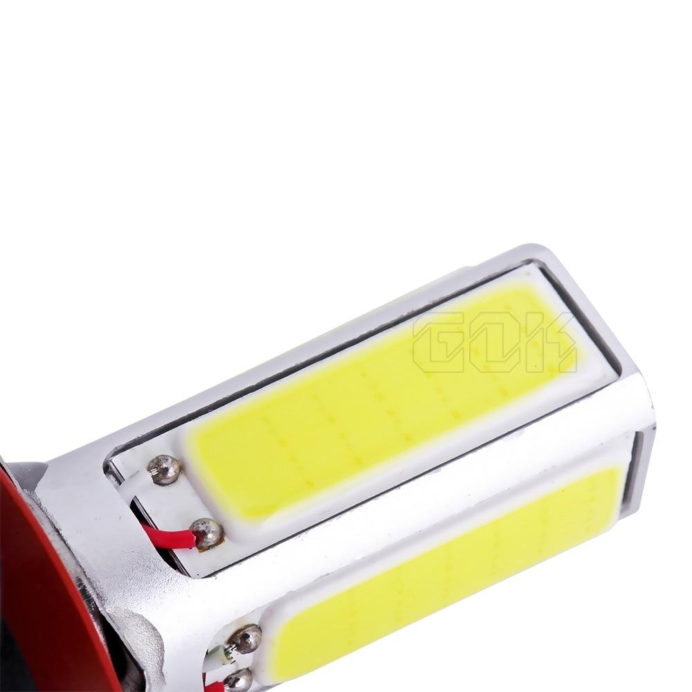 2X высокое Мощность лампа H11 светодиодный удара H8 h7 h4 Белый УДАРА СВЕТОДИОДНЫЙ туман светодиодная фара для автомобиля SMD день вождения авто туман лампа h11 20 w Светодиодный фар автомобиля