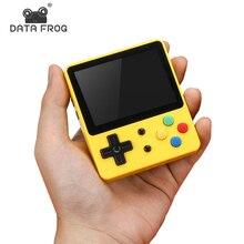 Классическая Мини портативная игровая консоль DATA FROG, LDK, семейная ТВ видео консоль, 2,6 дюйма, поддержка TF карт, подарок для детей