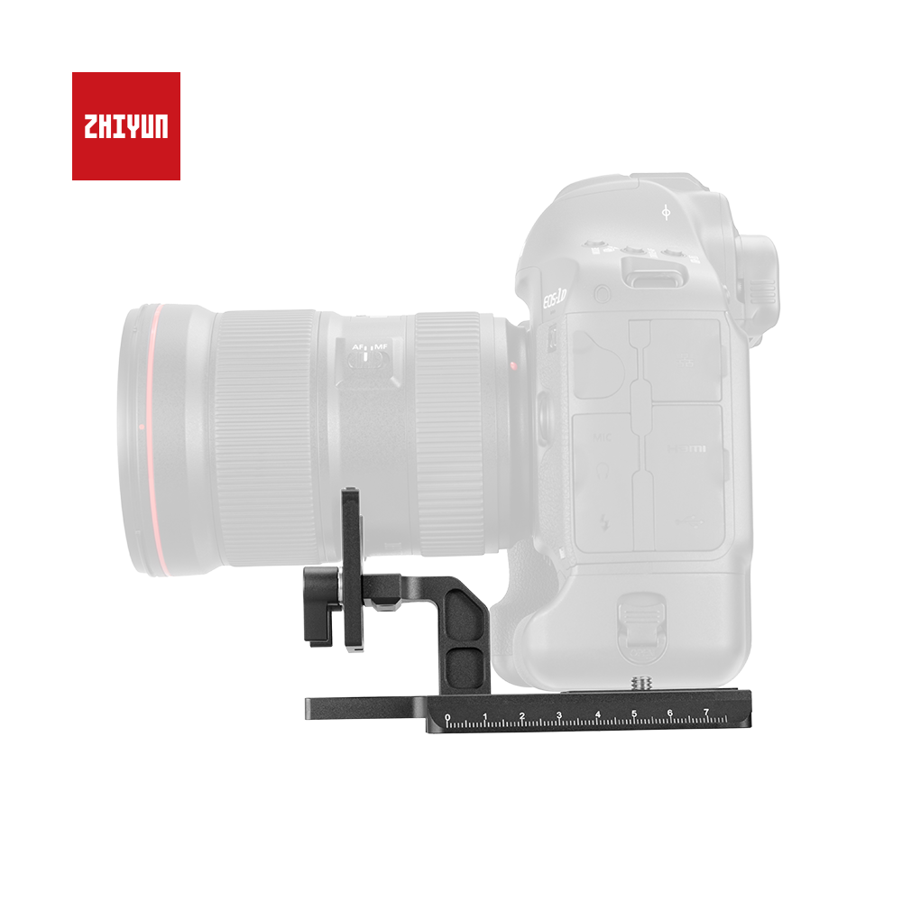 Zhiyun Crane 3 Lab quick replace plate for Canon 1DX 1DX Mark 2 with Manfrotto universal