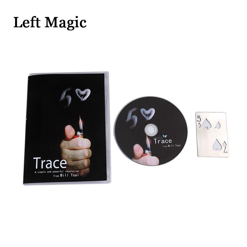 Trace (Gimmick and DVD) de Will Tsai -Magic Tricks impactantes - Juguetes clásicos - foto 3