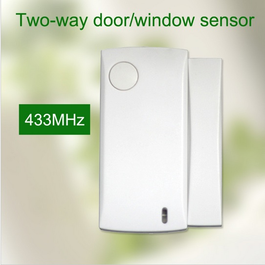 5PCS/lot 433mhz Wireless magnetic door sensor wireless door detector sensor Alarm Accessories for gsm wifi alarm system wireless multi function door sensor magnetic window detector for security alarm system automatic door sensor 433mhz