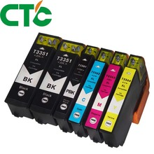 6PCS 33XL T3351 Compatible Ink Cartridge for INK XP-530 XP-630 XP-830 XP-635 XP-540 XP-640 XP-645 T3361