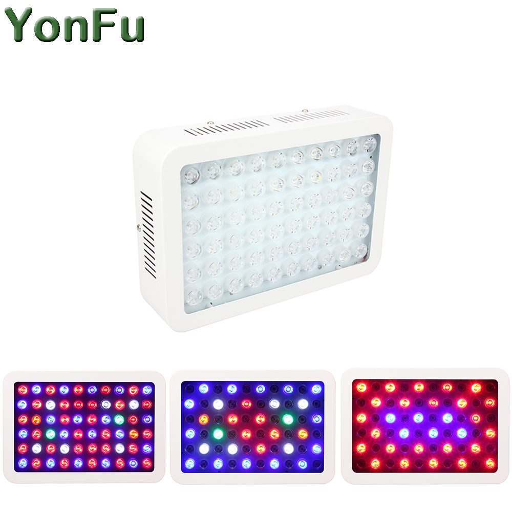 300W LED Grow Light Full Spectrum for Indoor Greenhouse Hydroponics grow tent plants grow led light Dimmable Lens AC85~265V 300w full spectrum 30 led ufo plant grow light ac85 265v growing lamp for indoor plants hydroponics system grow lamp