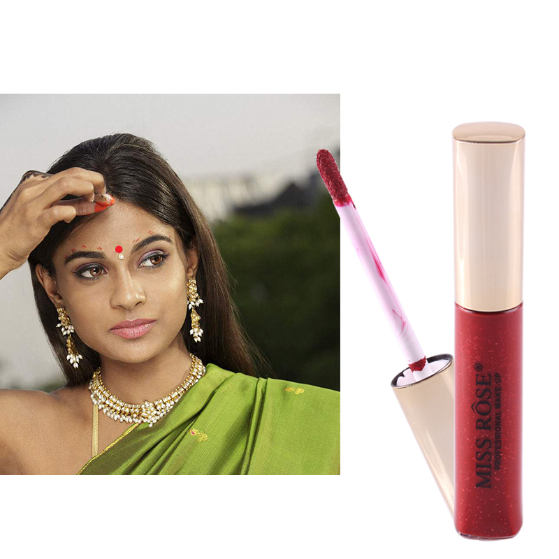 The Cheapest Price 1pc Fast Drying Cinnabaris Paste Eyebrow Centre Eyebrow Centre Dyeing Paste Makeup Cosmetic For India Women Children Use Tslm2 Soft And Light Makeup