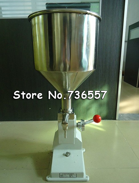 Manual paste filling machine liquid filling machine cream filling machine Sauce Jam nial polish filling machine 0 - 50ml shampoo lotion cream yoghourt honey juice sauce jam gel filler paste filling machine pneumatic piston filler with free shipping