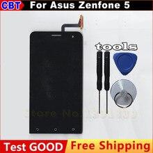Para asus zenfone 5 a500cg a500kl a501cg pantalla lcd + Sensor Panel de Pantalla táctil de Cristal Digitalizador Asamblea Tool + Free gratis