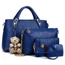 Women Designer Handbags 4 Piece Set