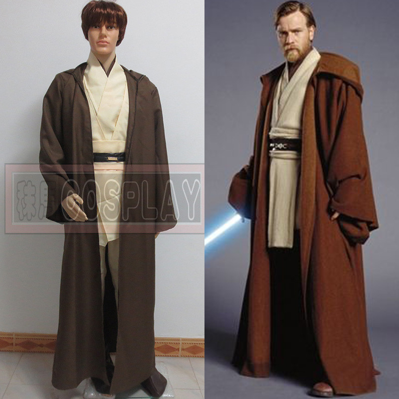 Customized Star Wars cosplay Obiwan Kenobi cosplay Costume Any Size