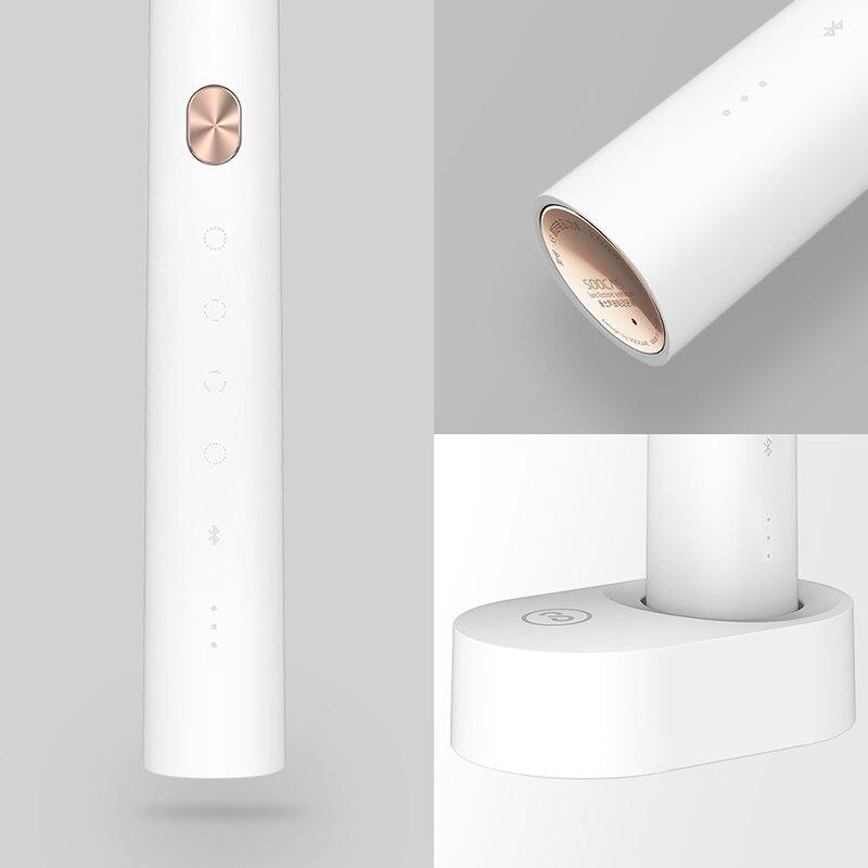 Xiaomi Soocas X3 brosse à dents électrique sonique brosse à dents USB Rechargeable adulte étanche Ultra sonique automatique mijia - 5
