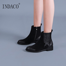 Ankle Boots for Women 3cm Winter Chelsea