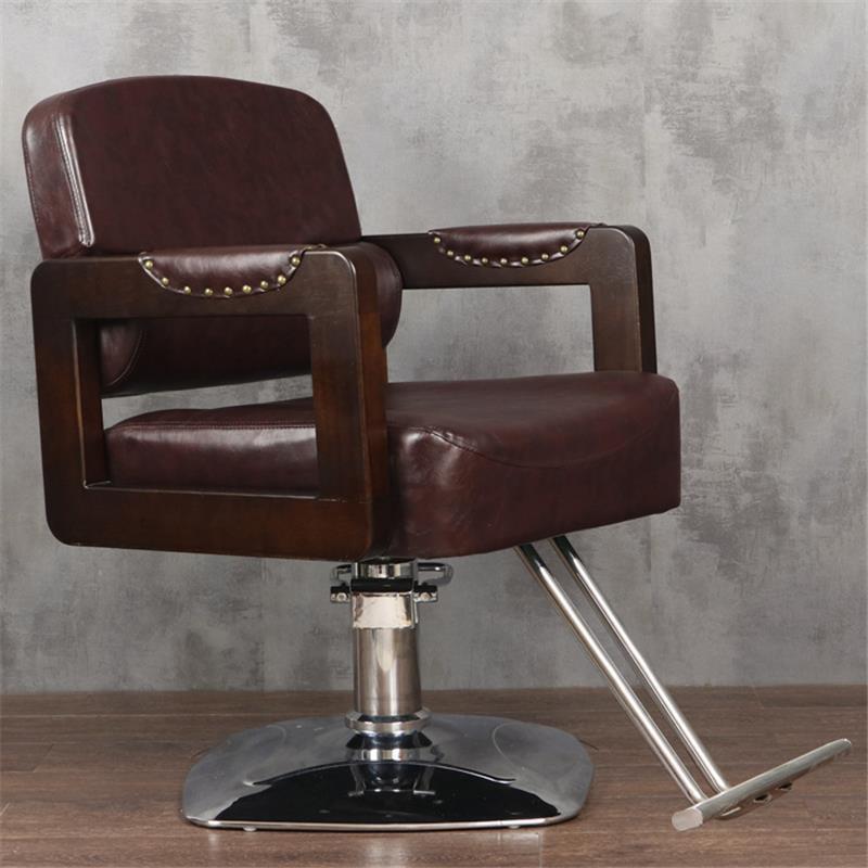 Schoonheidssalon Mueble Stoelen cappersstoelen Barbeiro Hair Sedie De Belleza Sedia Cadeira Salon Barbearia Silla парикмахерское кресло - Цвет: MODEL V