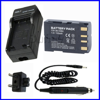 Bateria e carregador para jvc BN-V408  BN-V408U  BN-V408US  BN-V428  BN-V428U  BN-V428US  BN-V416  BN-V416U  de íon de lítio recarregável