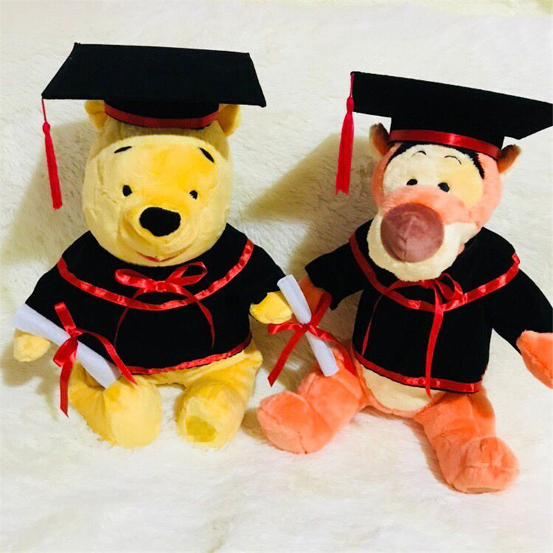 1pieces/lot plush Long nose like dodo tiger doll appease toy cartoon animal graduation gift doctoral cap academic dress gift1pieces/lot plush Long nose like dodo tiger doll appease toy cartoon animal graduation gift doctoral cap academic dress gift