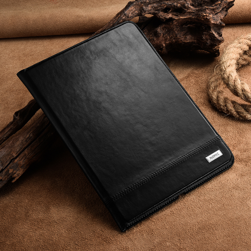 Genuine Leather Case For iPad Air 2 Luxury 360 Full Protection Book Style Protective Flip Case Cover For Apple iPad Air 2 Shell leather case flip cover for letv leeco le 2 le 2 pro black
