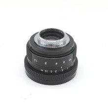 Cámara Mirroless 25mm F1.4 C Montaje de Lentes de La Cámara Para APS-C M4/3 FX EOSM N1 P/Q E-P1 E-PL1 G1 GF1 GH1 NEX NEX-3 NEX-5