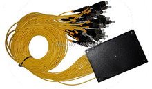 Free Shipping GPON EPON 2.0mm 1.2M 1x32 ABS Box 1 32 FC/UPC Ports Fiber Optical PLC Splitter