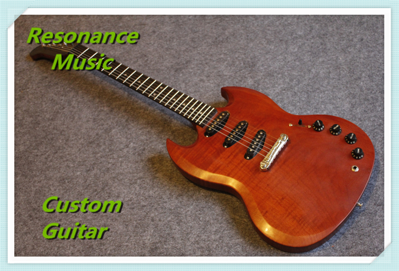 100% Real Pictures Custom SG Electric Guitar Stain Finish Chinese Guitars hot selling cheap price sg standard electric guitar bigpsy tremolo stain finish chinese guitars in stock for sale