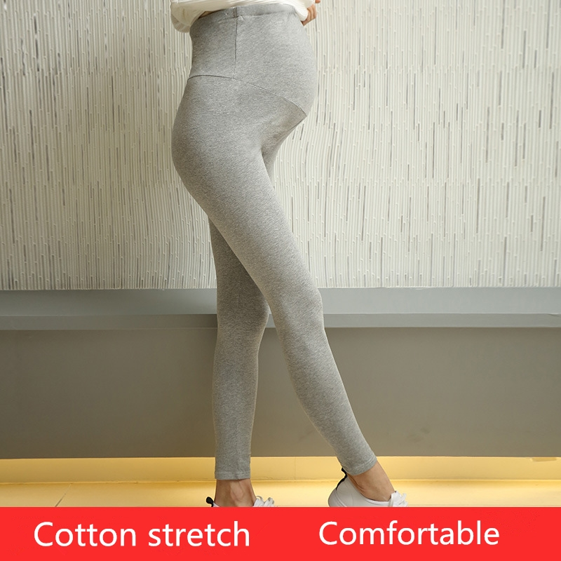 a8ea495905325 Three quarter High Waist Casual fashion Adjustable Cotton maternity  Leggings Maternity Slim Pants Leggings Pregnancy Trousers-in Pants & Capris  from Mother ...